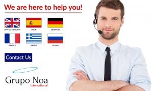 European call center company