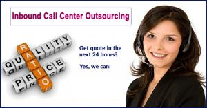 Inbound call center outsourcing