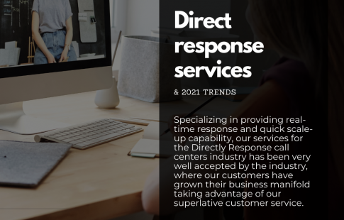 Direct response call center services