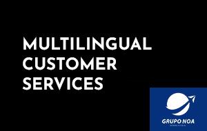 Multilingual customer services